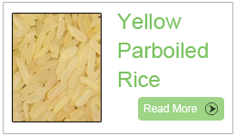 Parboiled Yellow rice,  Yellow Parboiled Rice
